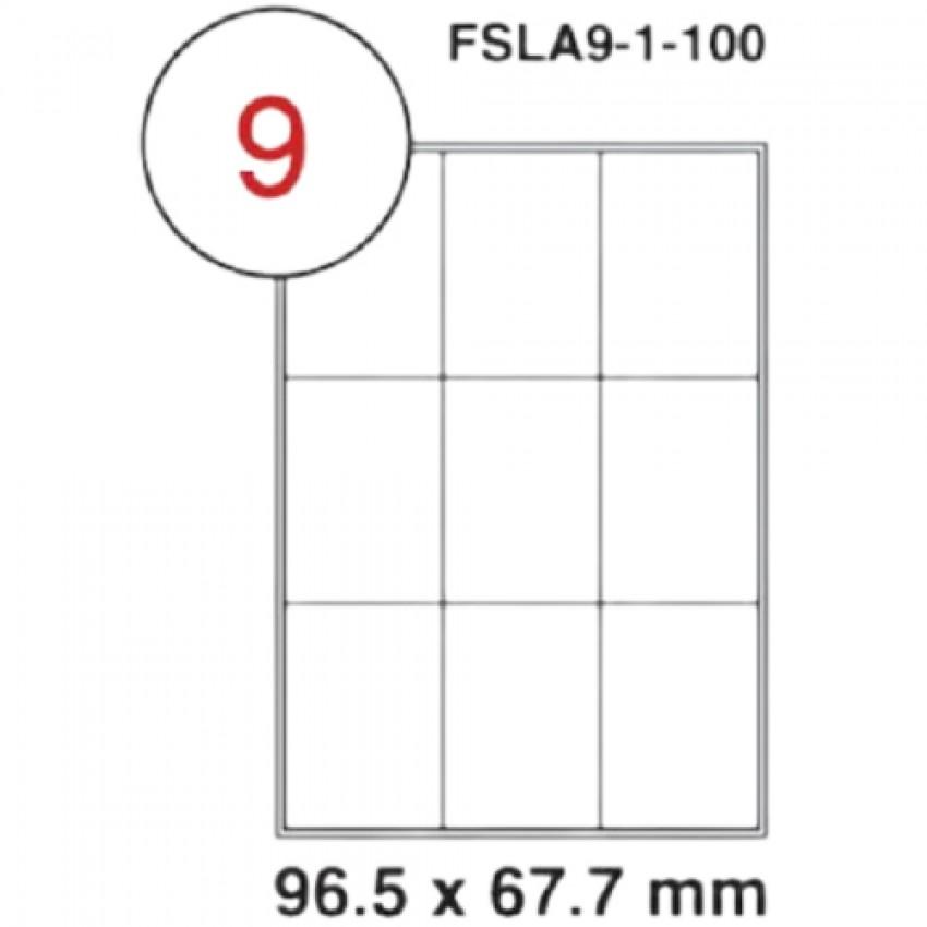 MULTI PURPOSE WHITE LABEL-96.5X67.7-FSLA8-4-100