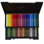 FABER-CASTELL Pencil Polychromos in Wooden Case 120 Colour