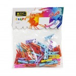 Wooden Clips Assorted Colour