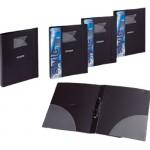 Foldermate 2 Ring Binder A4 Black