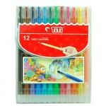 TITI Twist Crayons 12Color(144 SET/CT) 5.8mm x 140mm Hang Sell
