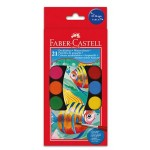 FABER-CASTELL Water Colors 21Color 30mm Hang-Sell - 36sets/ctn