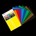 SADIPAL LR Coloured CB A4-10 Asst.Dark Colour Sheets-21x29.7cm