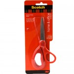 Scotch Home & Office Scissors 1408. Stainless steel blade, 8 in (20cm). 1 scissor/card