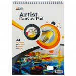 Canvas Pad 10 Sheets A4 Size