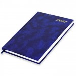 FIS A5 Diary 2021 English (Friday & Saturday Combined) Blue