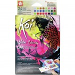 KOI CREATIVE ART COLORS POCKET FIELD SKETCH BOX 24