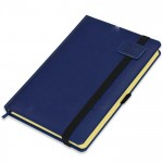 FIS A5 Diary 2021 (Arabic/English) Blue