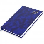 FIS A5 Diary 2021 (Arabic/English) Friday & Saturday Combined, Blue