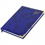 FIS A5 Diary 2022 (Arabic/English) Thursday & Friday Combined, Blue