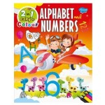 SAWAN - 2 IN 1 COPY TO COLOUR ALPHABET & NUMBERS