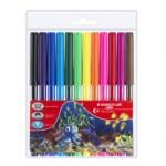 Staedtler Luna Fibre-Tipped Pen Pack of 12 Colors (327-LWP12)