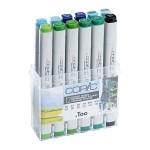 Copic Marker 12pc - Envirnoment Colors
