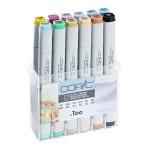 Copic Marker 12pc - Pastel Colors