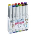 Copic Marker 12pc - Summer Colors
