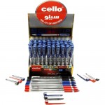 Cello Finegrip 0.7mm Display 50 Assorted