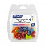 Hand Push Pins 25/Pack