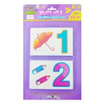 English Numbers Learning Card (Magnetic)