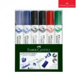 FABER-CASTELL Marker Whiteboard W50 asst 6x PET box