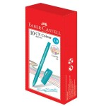 FABER-CASTELL Ball pen CX Colour Turquoise Box of 10