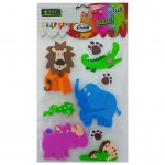 Eva Sponge Shapes Animals - Model 2
