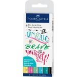 FABER-CASTELL India ink Pitt  Artist Pen Lettering 6x
