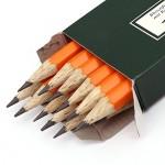 FABER-CASTELL Bonanza Black Lead Pencil 2Bwith eraser Pkt of 12