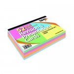 """Tiger Revision Cards Ruled Coloured 6x4"""""""