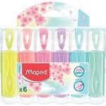 Maped Highlighter FluoPeps Pastel Pack of 6 Colors