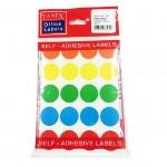 TANEX 25mm 20L Mix color circle