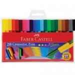 FABER-CASTELL JUMBO CONNECTOR PEN OF 20