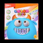 Deli Color Kids Felt Pen Washable 1.0-5.0mm 24C