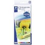 Staedtler 2430-C12 Soft pastel chalks  Set 12 Colors