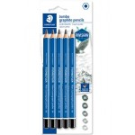 Staedtler Mars Lumograph Pencil Jumbo Box of 6 pcs 100J-HB