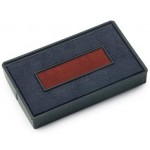COLOP SPARE PAD RED/BLUE FOR 260,226