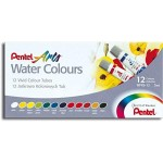 Pentel WFRS Water Colour 5ml set of 12 Colors