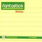 Fantastick Sticky Notes 3x3