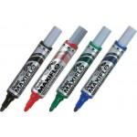 Pentel MWL5M Maxiflow White Board Marker Bullet Tip