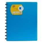 Foldermate Ring File 25 Pockets Asst Color Box of 25pcs