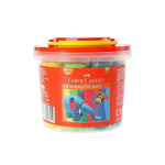 FABER-CASTELL 10 Modelling Clay 250 GM Plastic Bucket