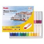 Pentel HTP Water Colour Paint Set of 24 Colors