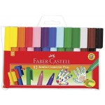 FABER-CASTELL JUMBO CONNECTOR PEN OF 12