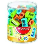 Maped Sharpner 1Hole Vivo Pack of 75 Pcs