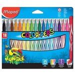 Maped Color Peps FeltTip Jungle 18 Color set
