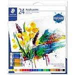 Staedtler 8500 Acrylic Paint tubes Set of 24 Colors