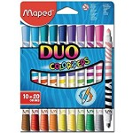 Maped Color Peps Double Ended Felt Tip 10=20 Color