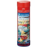 FABER-CASTELL Round Tin 36 Color (Fish)