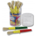 JOVI School Brushes Thick Size Jar with9 Brushes