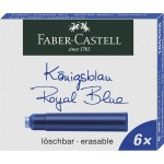 FABER-CASTELL Ink Cartridge Standard Blue