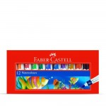 FABER-CASTELL STUDENTS WATER COLOURS TUBES 12